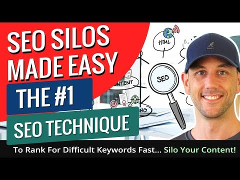 SEO Silos Made Easy - The #1 SEO Technique To Rank For Difficult Keywords Fast... Silo Your Content!