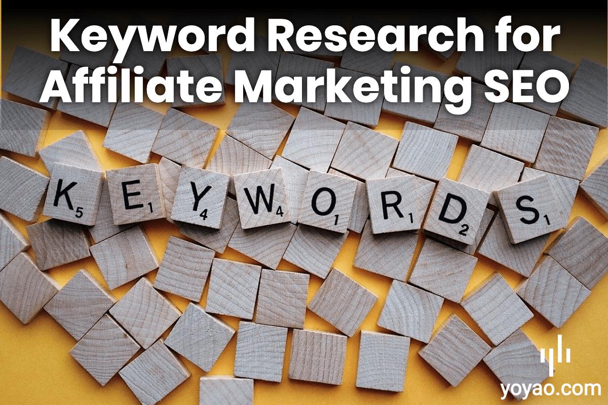 Niche Keyword Research Affiliate Marketing SEO Free Method